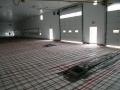 View of U-Drain and Floor Heat