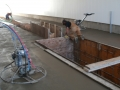 Professional concrete finishers