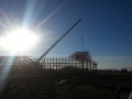 Craning on the Trusses